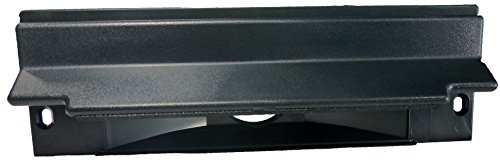 Central Vacuum Sweep Inlet. CanSweep Dustpan Inlet Valve (Black) for under counter and baseboard installation for central vacuum systems (System Baseboard)
