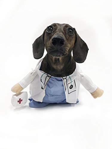 Midlee Fake Arms Doctor Dog Costume (Small Dog Medium) ()
