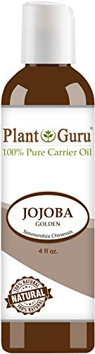 Breakouts Oil Jojoba (Jojoba Oil 4 oz. Cold Pressed 100% Pure Natural Carrier - Skin, Body And Hair Moisturizer. Works For Massage, Aromatherapy, More!)