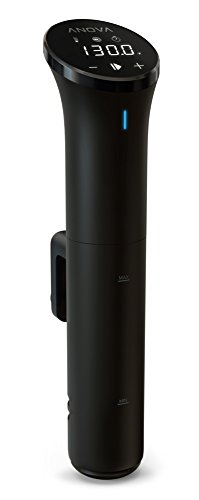 "Anova Culinary AN400-US00 Nano Sous Vide Precision Cooker, 12.8"" x 2.2"" x 4.1"""