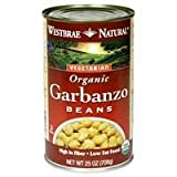 Westbrae Foods Garbanzo Beans 25 Oz (Pack of 12)