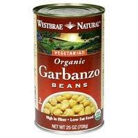 Westbrae Foods Garbanzo Beans 25 Oz (Pack of 12)
