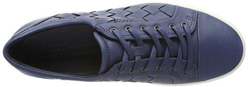 Ecco Heren Zachte 7 Geweven Stropdas Mode Sneaker Marine