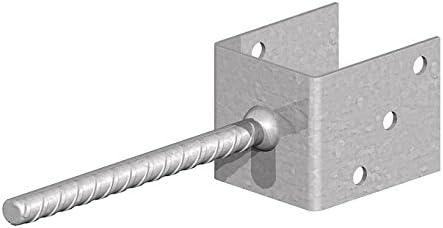 paraFencemate concreto en poste u soporte galvanizado for 75mm o 3