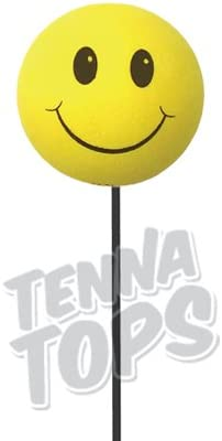 Athletics Jack in the Box Oakland As Yellow Smiley Car Antenna Ball Antenna Topper