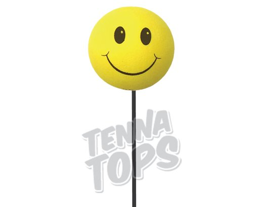 Angels Baseball Car Antenna Topper Yellow Smiley Antenna Ball