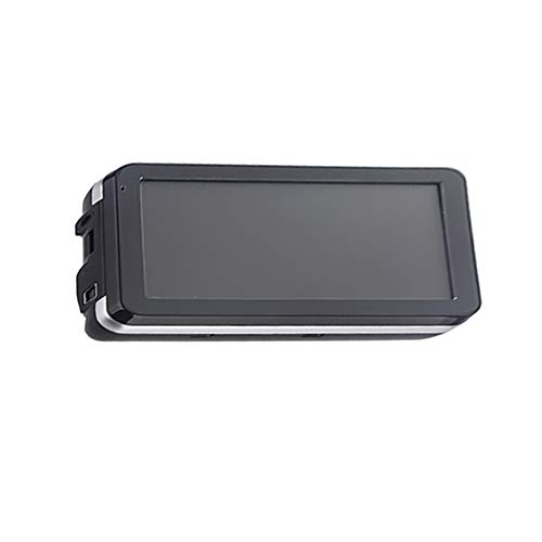 Car GPS Navigator with Back Clip,Auto 5 Inch TFT-LCD Touch Screen 4GB Navigation, File/Picture Browser MP3/MP4 Audio Video Player(Silver)