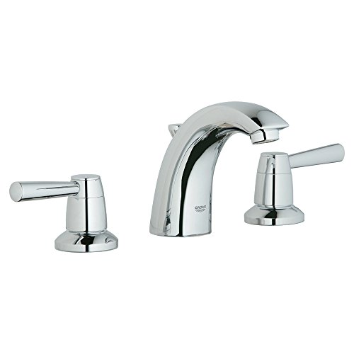 Grohe K20121-18083-00E-2 Arden Lavatory Faucet Kit with Lever Handle, Chrome,,, Starlight Chrome