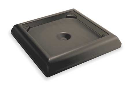 Weighted Base, 6''H x 24-1/2''W, Blk