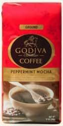 Godiva Peppermint Mocha Limited Edition Coffee 12 OZ