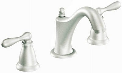 Moen CA84440SRN Double Handle Widespread Bathroom Faucet from the ...