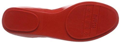 Melissa Queen 16 - Bailarinas Mujer Rojo (51609-Red Contrast)