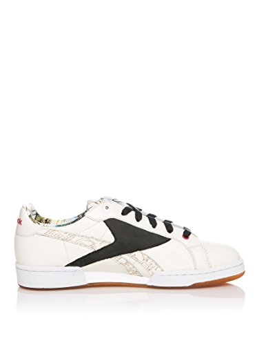 REEBOK Zapatillas Npc Uk Basquiat Olympic Blanco / Negro / Rojo EU 45.5 (US 12)