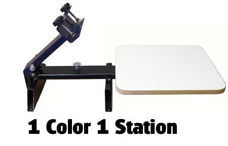 Screen Printing Press 1 Color 1 Station by Home Based Equipment