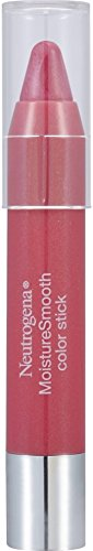 Neutrogena MoistureSmooth Color Stick, Bright Berry 1 ea (2 Pack) - Smooth Stick