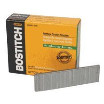 Sx50351ss-1m 1 Leg 18-Gauge 7/32 Narrow Crown Stainless Steel Staples(1000pk) by BOSTITCH