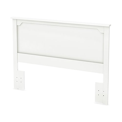 South Shore Furniture 54/60'' Fusion Headboard, Full/Queen, Pure White by South Shore