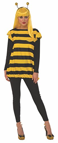 Rubie's Women's Standard Bumble Bee, Yellow/Black, Medium -