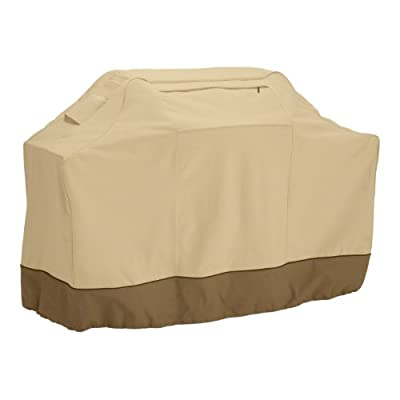 Classic Accessories Veranda Grill Cover - Durable BBQ Cover with Heavy-Duty Weather Resistant Fabric