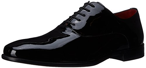 Hugo Boss Men's C-Hupat Oxford Black Shoes - 10.5 D(M) US