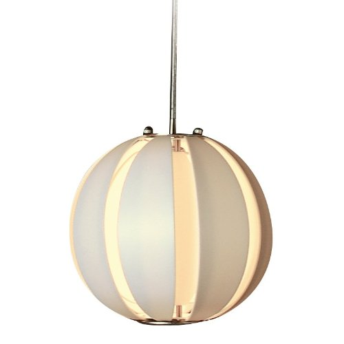 Trend Lighting TP3951-W Pique Single Pendant (Table Lamp Nickel Trend)