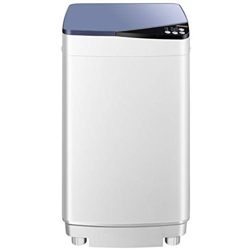 Small Mini Washing Machine – Fully Automatic Compact Washing Machine for Families/Dormitories 429433747 MM(Blue, Gold)
