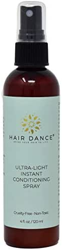 Leave-in Natural Conditioner with Marine Collagen, Silk Protein. Label Look Will Vary! No Parabens. (4ozLeaveIn)