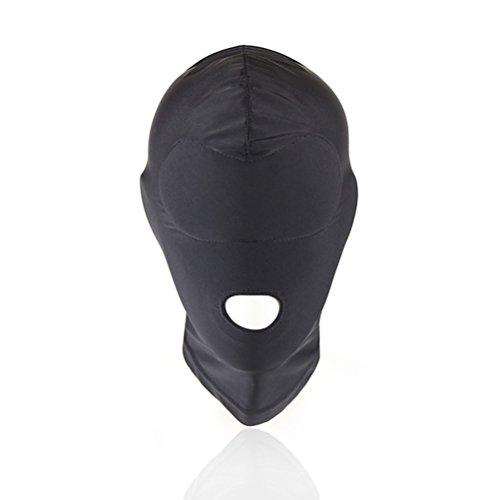 ADESUGATA Eye Face Open Mouth Mask Headgear Face Cover Costume Hood Mask Halloween Head Mask Costumes (E)