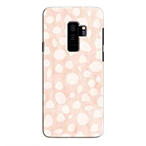 Cover It Up - Pebble Print Pink Galaxy S9 Plus Hard Case