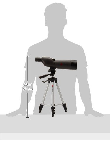 Simmons ProSport 20-60 x 60mm Waterproof/Fogproof Spotting Scope with Tripod, Grey