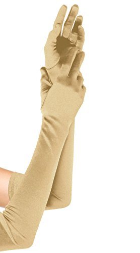 Women Long Bridal Banquet Party Wedding Opera Stain Gloves 22
