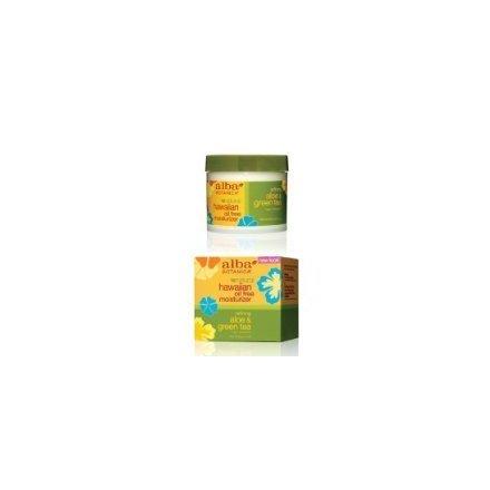 Alba Botanica Refining Aloe & Green Tea Hawaiian Oil Free Moisturizer, 3 Ounce Tubs Aloe & Green Tea Oil Free Moisturizer