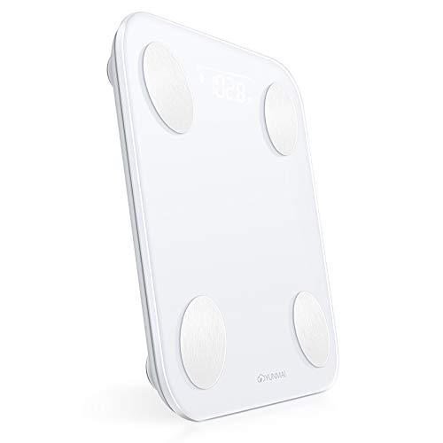 Yunmai Balance - Báscula de Baño Digital con App, Pantalla LED Oculta, Funciona con iPhone: Amazon.es: Salud y cuidado personal
