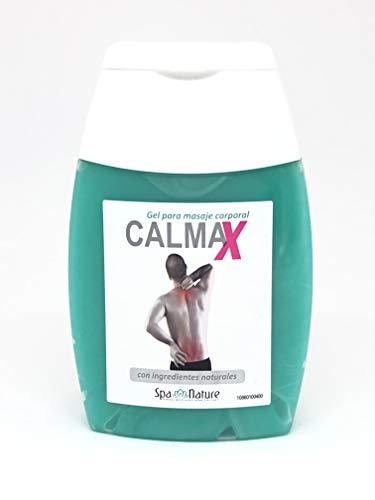 Spa Nature Gel Calmax -Gel para Alivio Inmediato del Dolor para Músculos y Articulaciones-Reforzada con Arnica y Aloe Vera 100% Natural para el Alivio del Dolor de Rodilla,Pies,Hombros,Espalda
