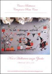 Non E Halloween Senza Zucche Cross Stitch Chart and Free Embellishment]()