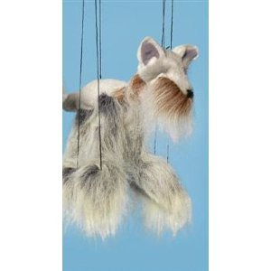 [Dog (Yorkshire Terrier) Small Marionette by Sunny Puppets] (Costume Puppet Strings)