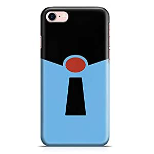 Loud Universe Frozone from Movie iPhone 8 Case Incredibles iPhone 8 Cover with 3d Wrap around Edges