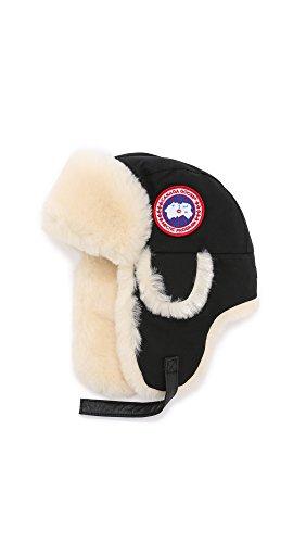 Canada Goose Men's Shearling Pilot Hat - Arctic Tech,Black,Small-Medium (Hat Men Canada compare prices)
