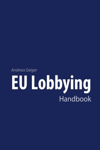 Read Online EU Lobbying Handbook ebook