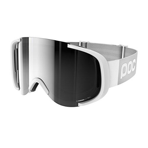 POC Cornea Masque de Ski Mixte Hydrogen White