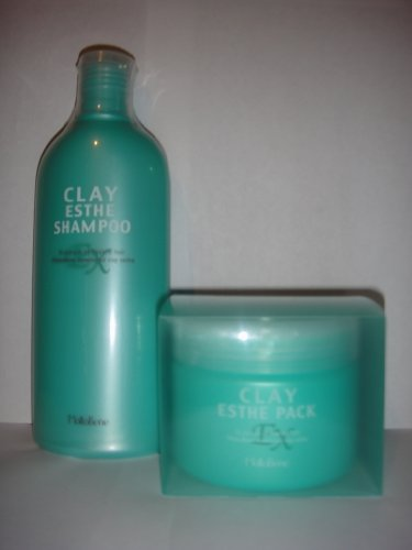 Clay Esthe EX Shampoo 11.2oz + Clay Esthe EX Pack 10.6oz