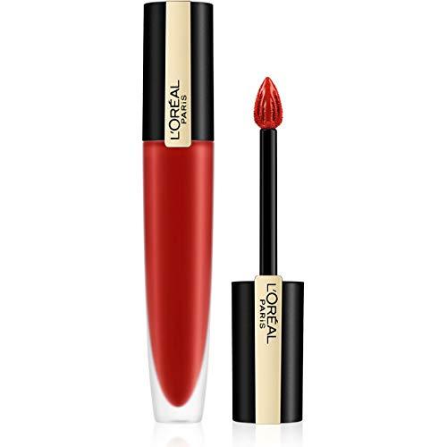 L'Oréal Paris Vloeibare lippenstift met matte afwerking, ultra lichte en sterk gepigmenteerde inkt lippenstift, Rouge…