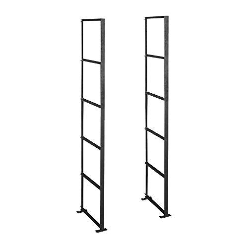 Ladder Data Rack (Salsbury Industries 2400 Rack Ladder Standard for Data Distribution Aluminum Box 5 High)