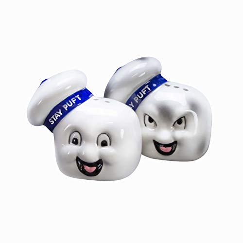 The Coop Ghostbusters Stay Puft Salt & Pepper Shakers - Not Machine Specific