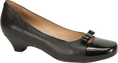Blondo Women's Valentine,Black Leather,US 7.5 N