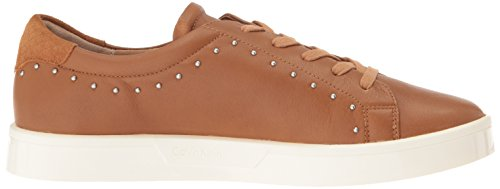 Calvin Klein Womens Illia Fashion Sneaker Almond Tan