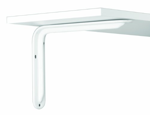 John Sterling Magnum Style Decorative Shelf Bracket, 12-inch, Warm White, RP-0099-12WT