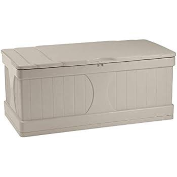 Amazon Com Suncast 99 Gallon Patio Storage Box Water