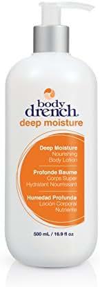 Body Drench Deep Moisture Nourishing Body Lotion for All Skin Types, 16.9 Fl Oz