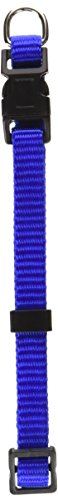 Petmate Adjustable Collar, 1-3/8 by 8 by 14-Inch, Blue